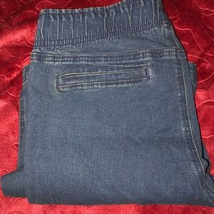 Bullhead stretch pull on jeans size large in GUC